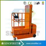 Máquina desbastadora hidráulica móvel dos bens do uso do armazém