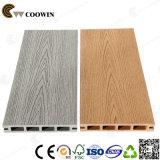 Placas compostas plásticas de madeira do Decking da cavidade do revestimento da grão a mais barata da madeira (TS-01)