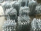 Tipo comercial galvanizado parafuso do tensor do corpo do frame do equipamento