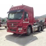 HOWO 6 * 4 del carro del tractor Tailer 336HP Diesel