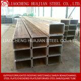 Galvanisiertes rechteckiges Stahlgefäß mit ISO