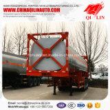 De fábrica del precio de la ISO los 40FT del envase de petróleo del buque acoplado semi