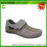 Zapatos de seguridad del cuero de zapato de la buena calidad