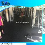 SGS prüfen erstklassige Qualitätsgymnastik-Eignung-Gummibodenbelag