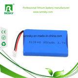 una batteria di 853450 1500mAh Lipo per gli altoparlanti di Bluetooth