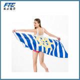 Tovagliolo di spiaggia di sport di buona qualità di Towe del bagno di Microfiber