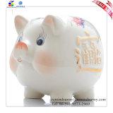 Bancos guarros blancos Shaped del cerdo lindo fabuloso