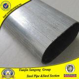 Труба слабой стали гальванизированная или черная овальная сваренная стальная