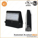 La pared al aire libre de la UL Dlc IP65 40W LED pila de discos la iluminación con 5 años de garantía