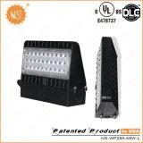 UL Dlc IP65 옥외 40W LED 벽은 보장 5 년을%s 가진 점화를 포장한다