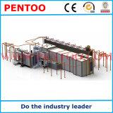 Machine d'enduit de poudre avec le système de reprise dans la ligne d'enduit de poudre
