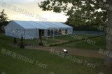 Clear PVC Roof、Marquee Party Tentが付いている玄関ひさしTent