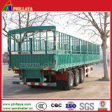 Tipo da estaca reboque da cerca Semi para o transporte de carga da maioria