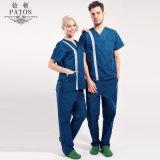 Le coton de l'infirmière Uniforms/100% de mode de fabrication de la Chine médical frotte la conception