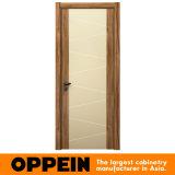 Portello di legno composito interno COMPLETO della melammina moderna di Oppein (YDF001D)