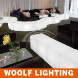 多く300脚のデザインLEDプラスチック家具LEDの庭の立方体の椅子