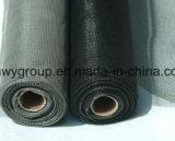 Pantalla revestida del insecto de la fibra de vidrio del PVC