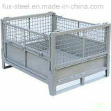 Amontonable y Fixed Storage Pallet Container Cage
