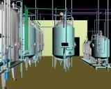 Máquina de extração de extrato de ervas solvente de operação fácil para chá
