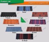 Alumimun-Цинка плитки толя металла камня песка офиса Нигерии плитка крыши Coated стального Corrugated волнистая