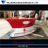 주문을 받아서 만들어진 배 작풍 바 카운터 홈 다방 바 소형 보트 모양 바 카운터
