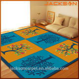 Schlafzimmer Decor Colorful Carpet mit Latex Backing