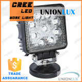 IP67 SpotかFlood Beam Auto LED Work 27W LED Work Light