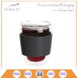 ガーナのためのTUVによって証明されるコーヒーガラスコップ