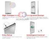 Anunciando o indicador de diodo emissor de luz transparente para a promoção dos produtos
