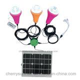 Kit solari di vendita superiori di illuminazione di telecomando di Solares di lux del Home Depot per illuminazione esterna per l'Africa