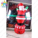 Albero esterno gonfiabile il Babbo Natale del regalo di Christams del Bouncer di Daner dell'aria dell'interno con il LED