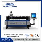 machine de découpage de laser en métal de fibre de 1000W Lm3015FL pour des articles de cuisine