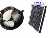 ventilador de ático Solar-Accionado montado en la pared 14inch con 15W picovoltio solar ajustable - motor sin cepillo (SN2013013)