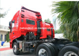 Euro 4の高品質Iveco Hongyan Genlyon M100 390HP 6X4 Harzadous Chemicals Truck Tractor