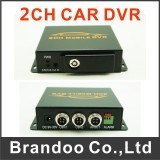2CHバスHD DVR SDカードDVR