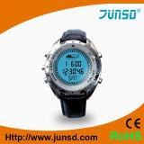 Reloj Titanium del compás del altímetro del barómetro de la caja del metal (JS-715A)