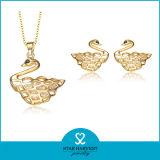 在庫(Jでセットされる一義的な動物925の純銀製の宝石類--0148)