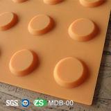 Blinde Tastpflasternziegelstein-Gummifliesen für blinde Person