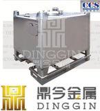 Grand dos IBC d'acier inoxydable pour les marchandises solides des graines et de poudre
