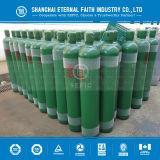 Cilindro de gás de alta pressão do hidrogênio do aço sem emenda (GB5099/EN ISO9809-1)