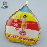 Divisa libre del Pin de collar del Buddhism del epóxido de la impresión de la promoción de la fábrica del diseño