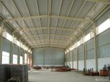 Helles Steel Prefabricated Warehouse mit Insulation