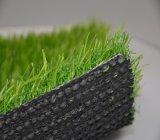 Gazon artificiel d'horizontal de jardin artificiel durable d'herbe (mb)