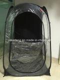 Im Freien schwarzes Augenblick Belüftung-Zelt mit D geformtes Windows