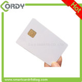ブランクPVC J2A040チップスマートカードのJavaの白いカード