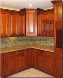 Solid Kitchen Cabinet Doors with Finished Painting