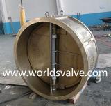 Бронзовый двойной задерживающий клапан плиты