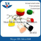 Form ledernes Keychain für Handtasche