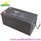 Batería profunda 12V200ah del gel del ciclo del panel solar para el sistema eléctrico