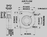 ventilador de refrigeração sem escova do ventilador dB5015 da C.C. de 50*50*15 milímetro